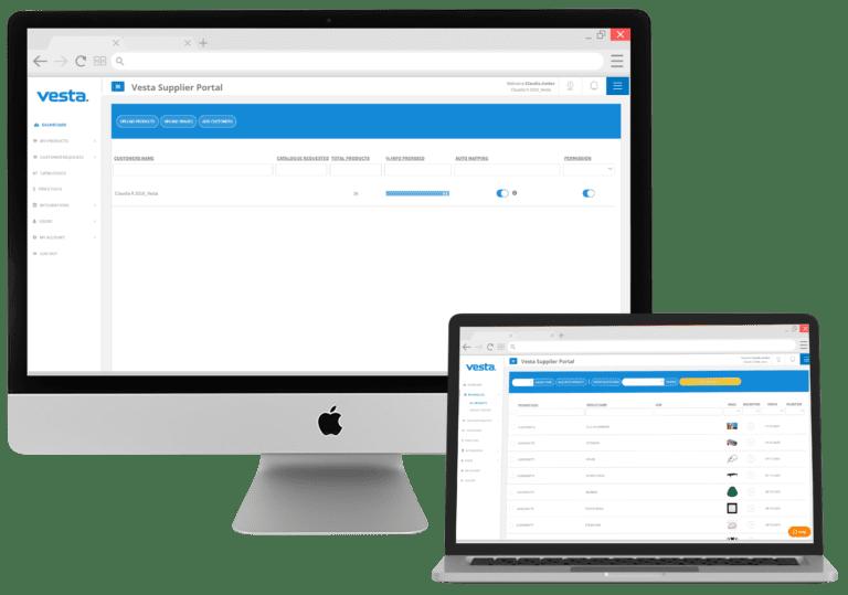 Vesta eCommerce Vendor Portal